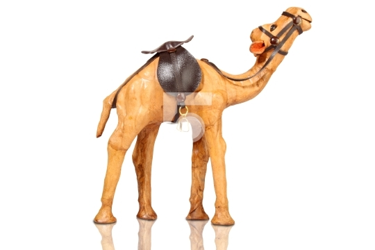 Brown colored camel, souvenir from dubai, united arab emirates