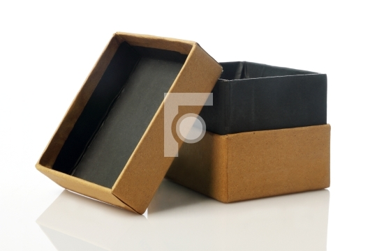 CardBoard Box for Mockup - Recycled Paper