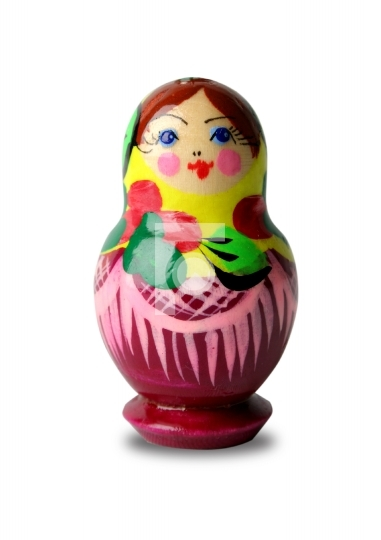 colorful russian doll