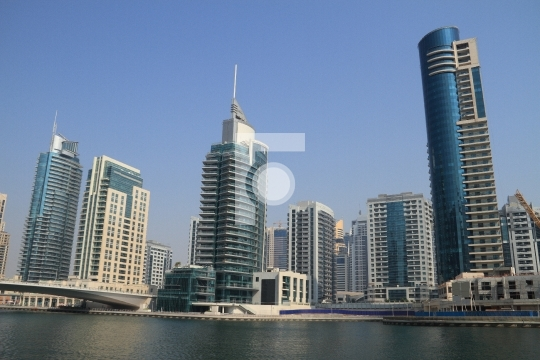 Dubai Marina Buildings, United Arab Emirates