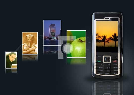 mms, mobile multimedia concept