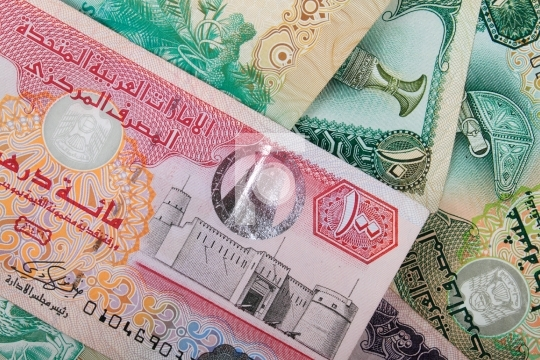 UAE Currency Dirham Banknotes
