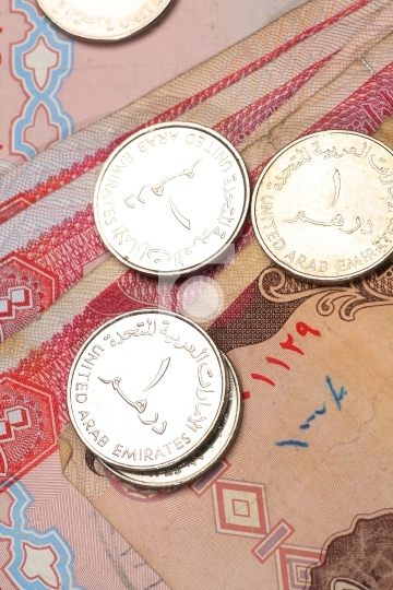 uae currency notes and coins