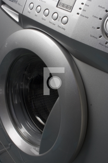 Washing Machine Closeup