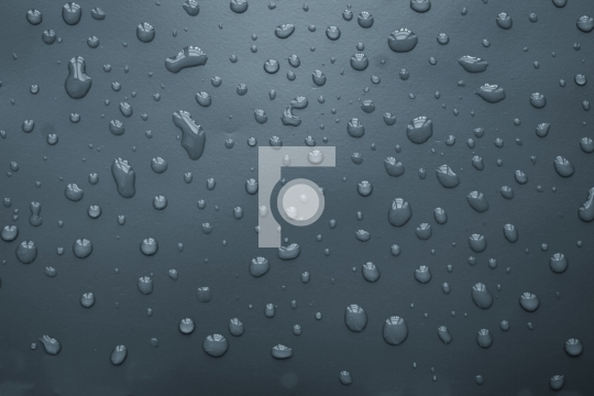 water drop texture in grey background