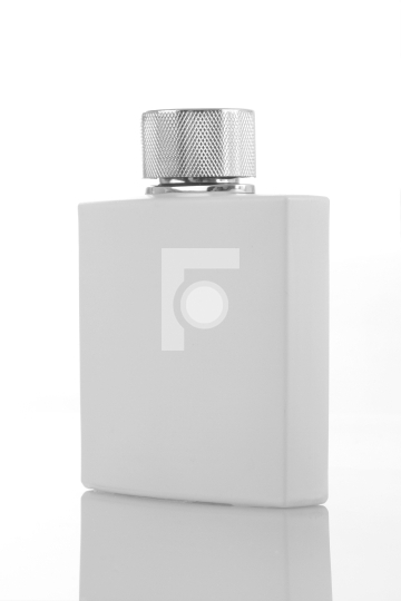 White Perfume Bottle for Mockups