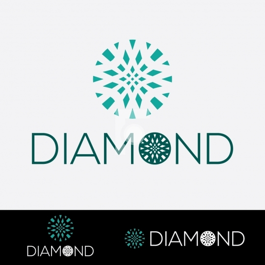 Diamond Logo - Readymade Company Logo Design Template
