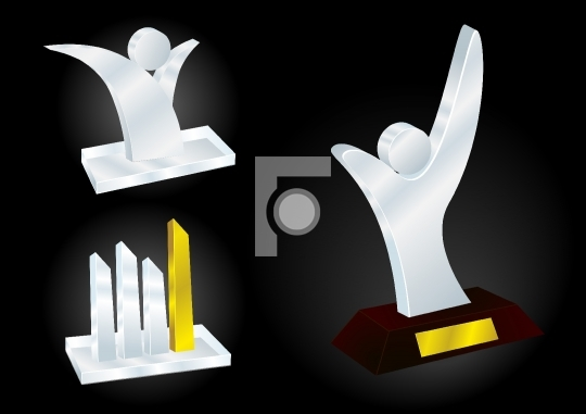 Different Award Designs - Free Download Vector Illustration
