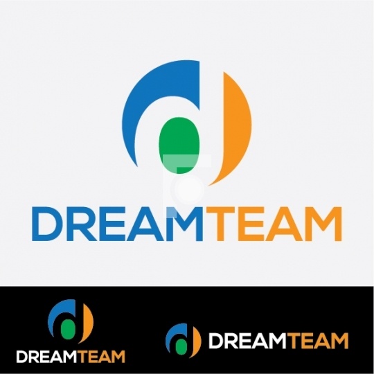 Dream Team D letter Logo - Readymade Company Logo Design Templat
