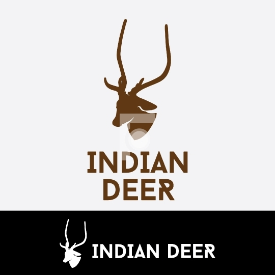 Indian Deer Ready made Company Logo for Startup