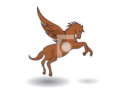 pegasus - horse with wings