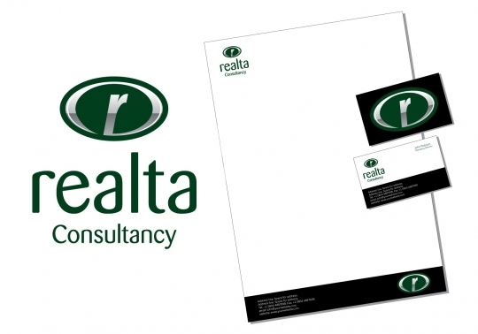 Realta Logo - Readymade Real Estate Company Logo Template