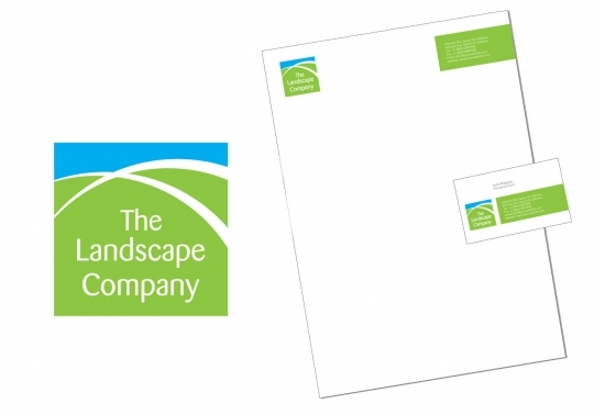 The landscape company - logo design and Corporate Identity