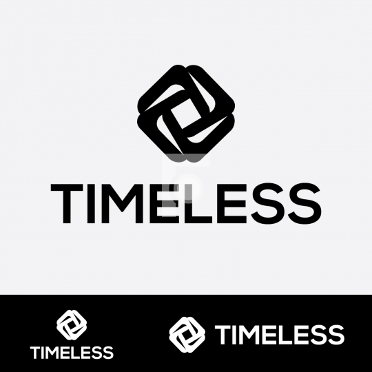 Timeless Logo - Readymade Company Logo Design Template