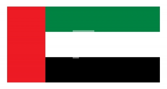 United Arab Emirates UAE Flag Free Vector & JPG